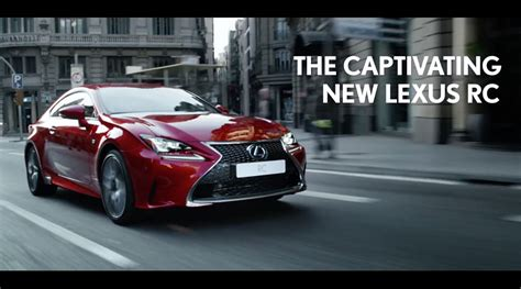 Lexus Is Commercial by Lexus Rc Europe
