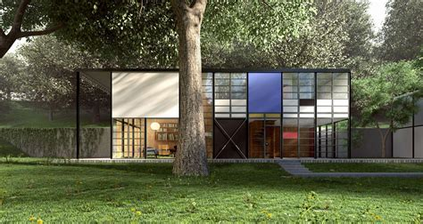 Front Yard Walkways - eames case study house 8 mid century modern groovy