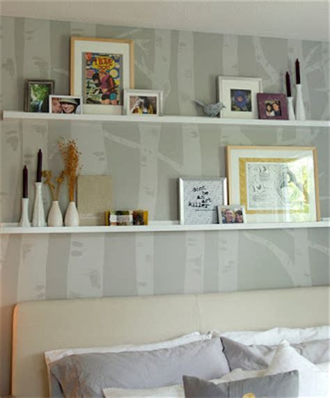 suburban renewal wall shelves and decorating style