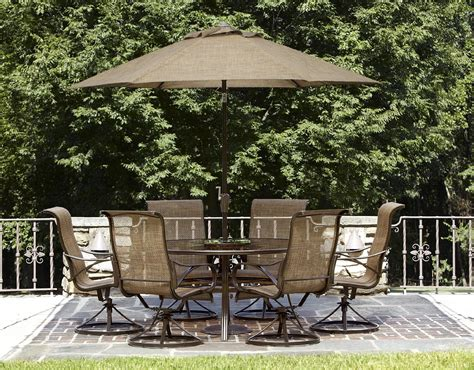 Sears Patio Dining Sets Garden Oasis Xss 1563 Owens 7pc Dining Set Limited Availability Sears Outlet