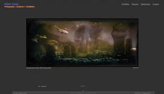 website templates for visual artists visualserver websites for artists website creator