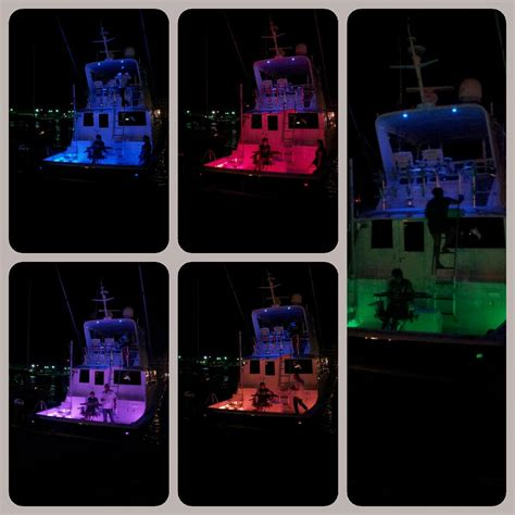 boat hull gunnel multi color led under gunnel lights the hull truth
