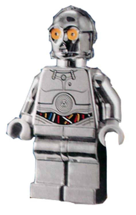 Lego 5000063 Tc 14 bricker lego minifigure sw385 tc 14 protocol droid chrome silver with blue and white