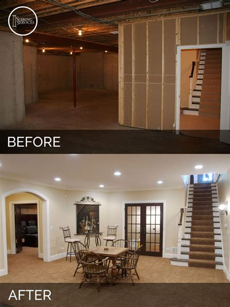 before and after basement 25 best ideas about basement remodeling on