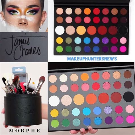 james charles makeup room morphe x james charles sister collection makeup snitch
