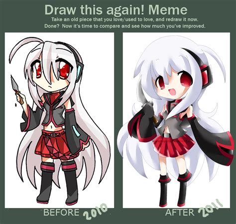 Draw This Again Meme - draw this again meme tei by kayozia on deviantart