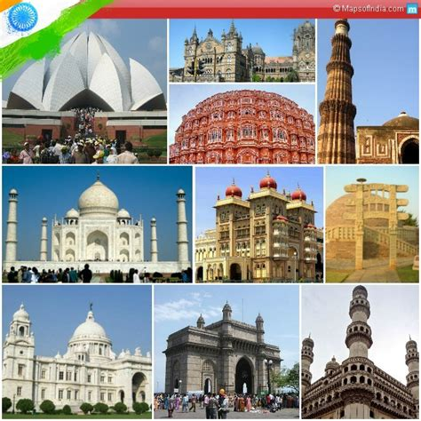 top 10 monuments of india my india