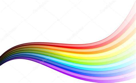 rainbow wave stock vector  vlastas