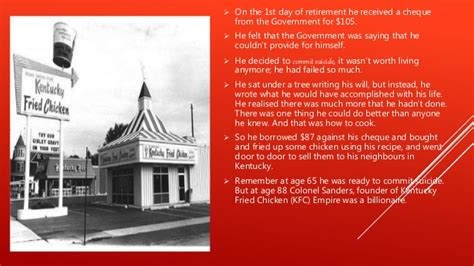 biography of kfc owner success story of colonel sanders founder of kfc
