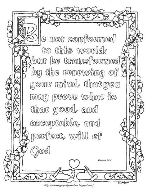 free printable scripture verse coloring pages romans coloring pages for kids by mr adron free printable