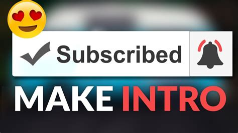 How To Make Subscribe Bell Icon Intro Notification After Effects Tutorial Youtube Bell Icon Intro Template After Effects