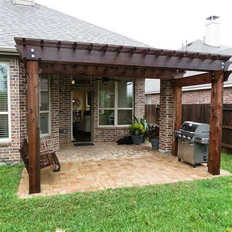 pergola covered patio the world s catalog of ideas