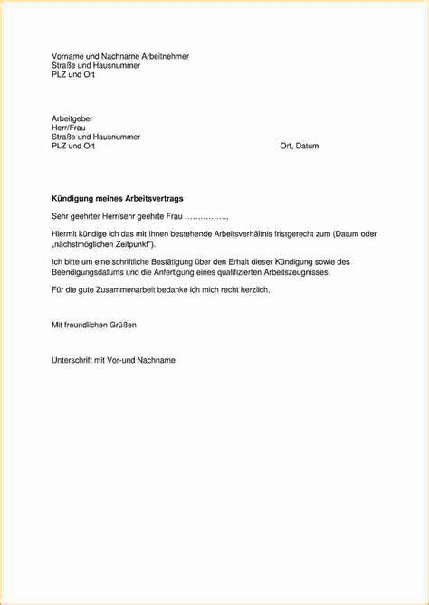 Anschreiben Muster Nach Kundigung 7 K 252 Ndigung Arbeitsvertrag Vorlage Bewerbungsschreiben