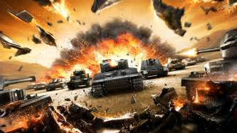 This world of tanks trailer explodes everything to celebrate 100