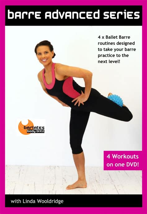 barre advanced 4 workout dvd