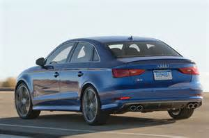 2015 audi s3 rear three quarter view in motion 2 photo 10