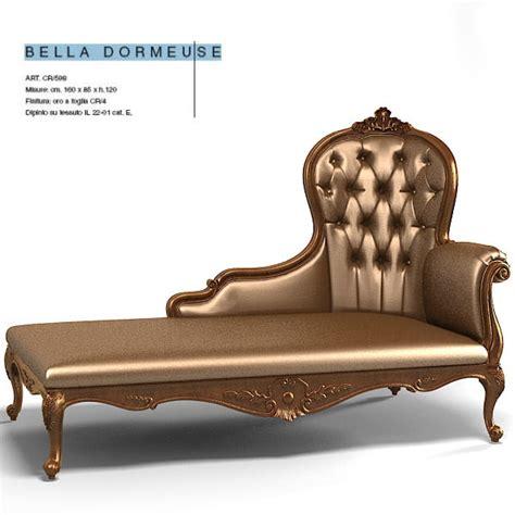 bella chaise lounge 3d 3ds creazoni bella chaise