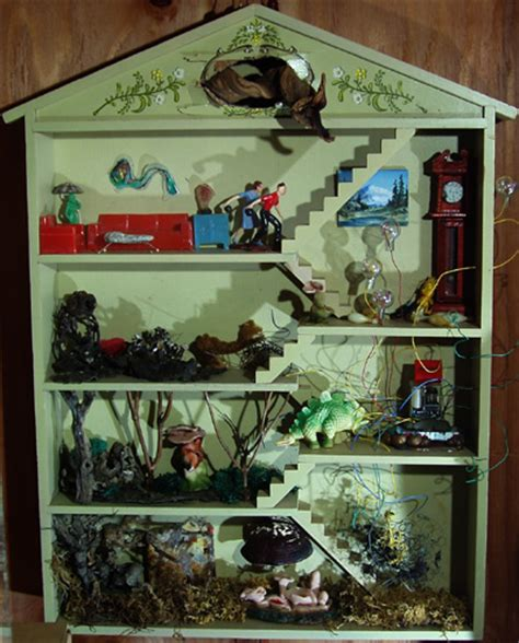 house diorama the zymoglyphic museum curator s web log new diorama