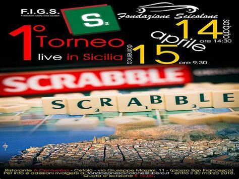 lo scrabble lo scrabble sbarca per la prima volta in sicilia cefal 249