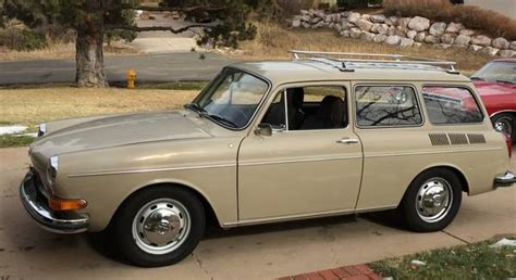 classic volkswagen station wagon almost one owner all original 1970 volkswagen type 3