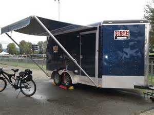 awnings for trailers awning race trailer awning