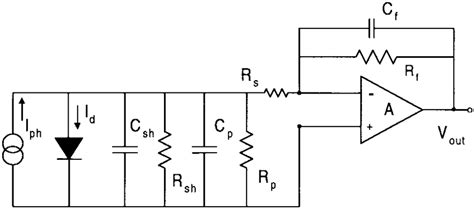 avalanche photodiode uses equivalent circuit of the avalanche photodiode array for noise