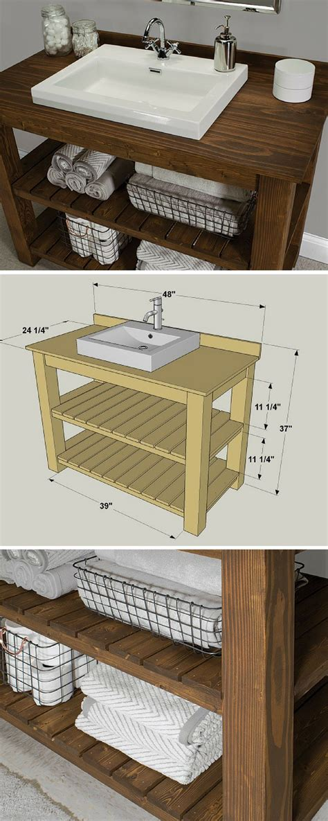 diy bathroom vanity ideas best 20 bath vanities ideas on
