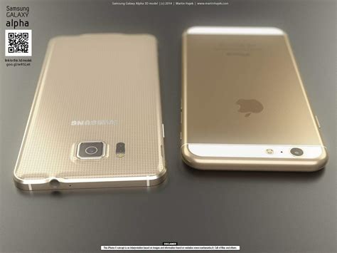 Sarung Iphone6 side by side the iphone 6 vs the samsung galaxy alpha