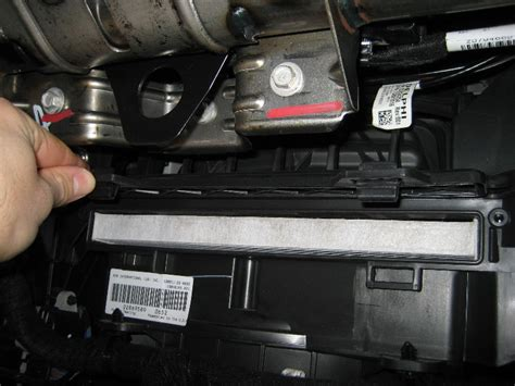 2010 Chevy Equinox Cabin Air Filter by Gm Chevrolet Equinox Cabin Air Filter Replacement Guide 015