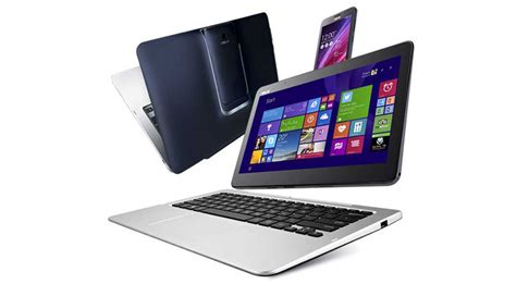Tablet Laptop Asus Transformer asus unveils 5 in 1 android windows transformer book v tabfonetop extremetech