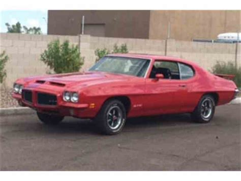 1971 Pontiac For Sale by 1971 Pontiac Gto For Sale On Classiccars 16 Available