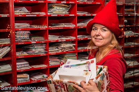 Post Office Santa by Letters In Santa Claus Post Office In Rovaniemi In