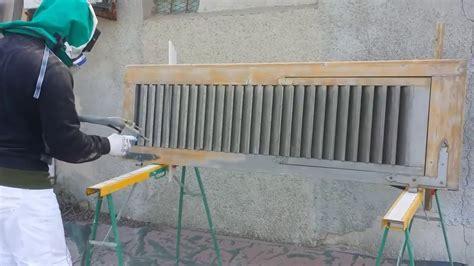 sverniciare persiane legno sverniciatura e sabbiatura persiana edilbarry