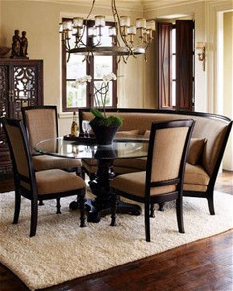 curved dining bench banquette bench traditional