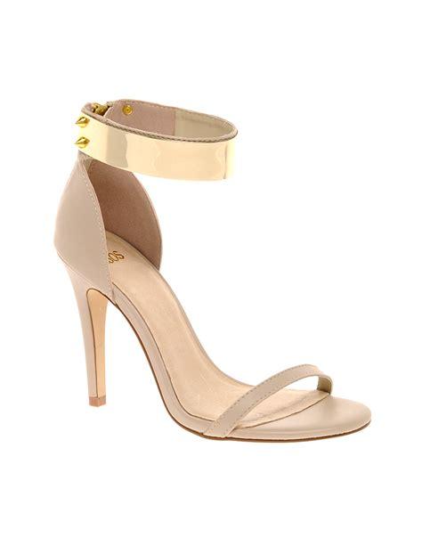 Handmade Shoes Hong Kong - asos hong kong heeled sandals with metal trim in