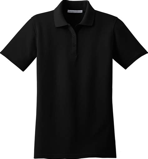 polo shirt template black polo shirt template clipart best