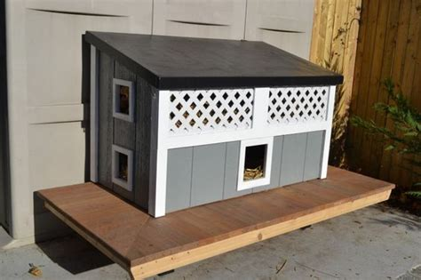 Feral Cat House by Feral Cat House Feral Cats And Cat Houses On