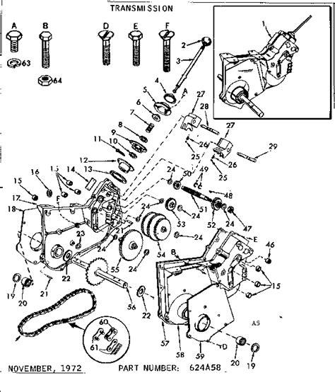 craftsman tiller parts diagram replacement parts diagram parts list for model 917295581