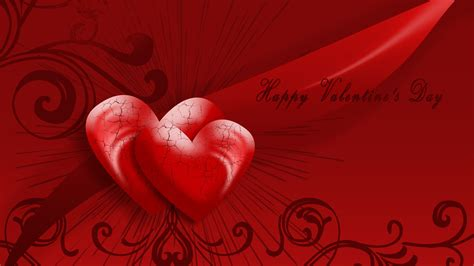 happy valentines day heart hd wallpaper