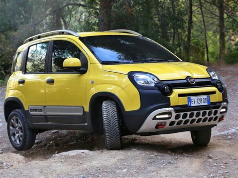 Rugged Car by Rugged Fiat Panda Cross Shows Up Ahead Of Geneva Debut