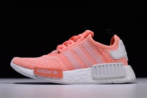 s adidas nmd r1 pink white running shoes on sale new yeezy 2018