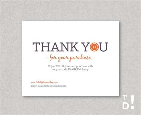 thank you packaging card template thank you for your order cards search thank you