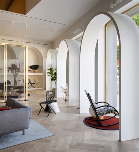 home design showroom los angeles knoll creates a moroccan inspired showroom for its home
