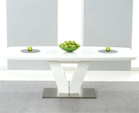 cheap white dining table 20 best ideas cheap white high gloss dining tables