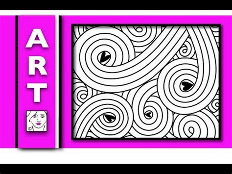 doodle patterns youtube zentangle doodle pattern 5 youtube
