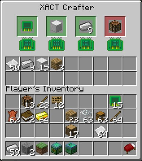 Advanced Crafting Table by Xact Xhamolk S Advanced Crafitng Table Mods