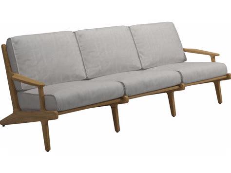 bay sofa bay 3 seater garden sofa by gloster design henrik pedersen