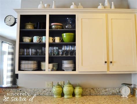 remove kitchen cabinet doors 15 diy kitchen projects