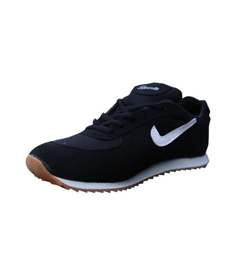 sports black running sport shoes price in india buy
