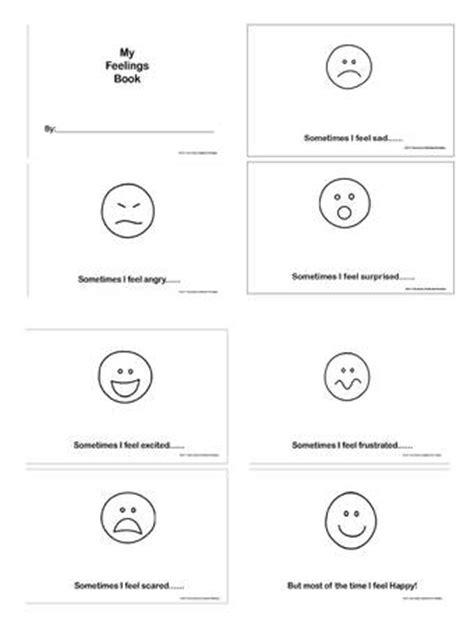 9 Best Images of Feelings Worksheets For Kindergarten